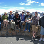 Geolaunchpad interns on fieldtrip to Rocky Mountain National Park to explore local geology and glacial geomorphology. Rocky Mountain National Park, Colorado, June 2017). (Photo/Ellie Ellis,  ...